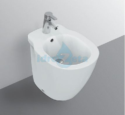ideal standard serie connect e8078 bidet a terra monoforo. Black Bedroom Furniture Sets. Home Design Ideas