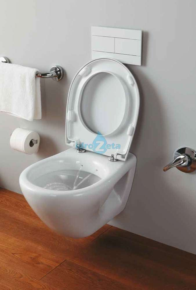 Vaso Bidet Combinato Ideal Standard.Wc Bidet Combinato Sospeso