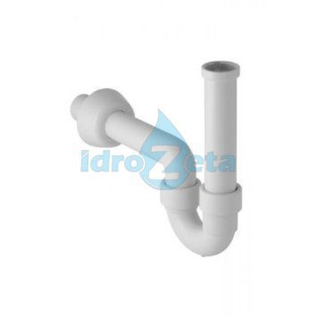 "GEBERIT 151.100.11.1 Sifone per lavabo in PP bianco orientabile 11/4""x40 mm"