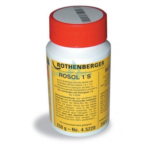 Rothenberger 45220 Pasta disossidante 1S barattolo 250 gr.