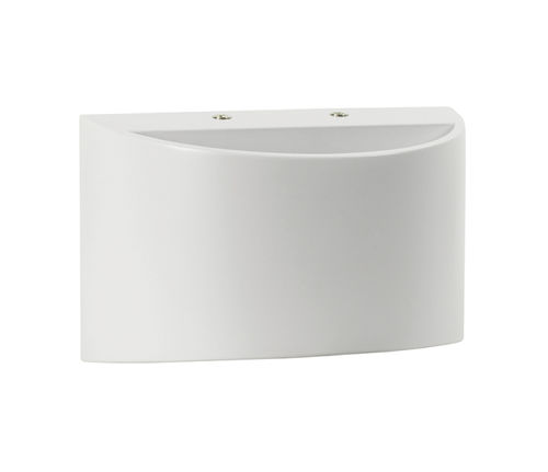 NOVA LINE Ghiberti applique in alluminio bianco Led integrato 7 W IP44
